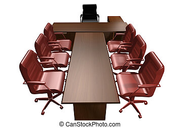 directeur, table