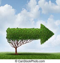 direction, croissance