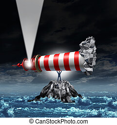 Direction Leadership - Direction leadership business concept...