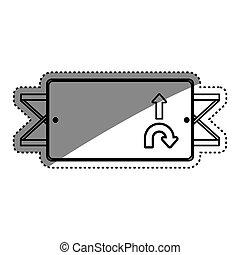 directions, panneaux signalisations