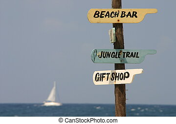 Directions - Beach directions