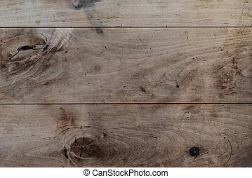 top view of rustic wood table background template