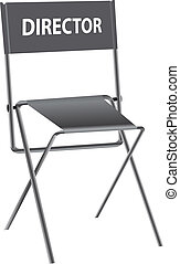 Director chair - A special place for a director with an...