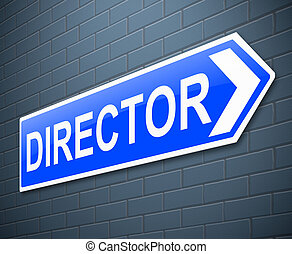 director, concept.