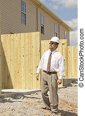 director, construcción, finanzas