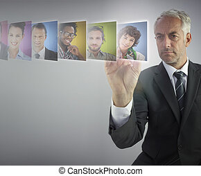 director, serio, s, recursos humanos