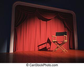 director szék