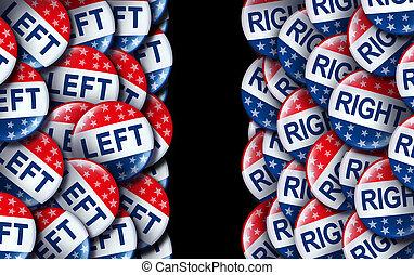 direita, asa, esquerda