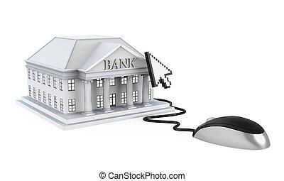 direkt bankrörelse, illustration