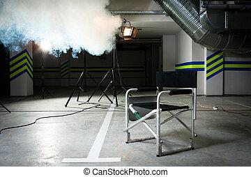 direttore, sedia