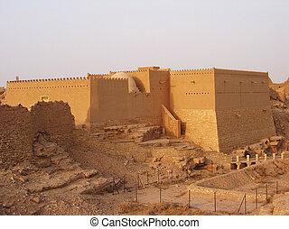 Diriyah, clay fortress in Er Riyadh, Saudi Arabia