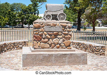 Dirkie Uys monument in Somerset West