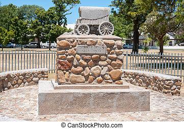 Dirkie Uys monument in Somerset West