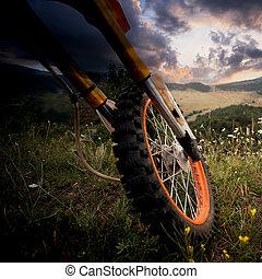 dirt bike details