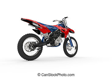 Dirt Bike Red Tail 2