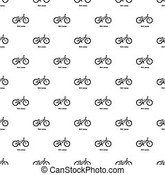 Dirt jump bike icon, simple style