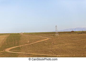 Dirt Road Rural Landscape