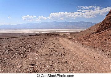 Dirt Road to Salt Flats