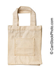 Dirty and old cloth bag