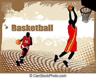 Dirty basketball poster