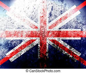 dirty England flag