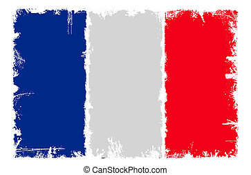 Dirty flag of France