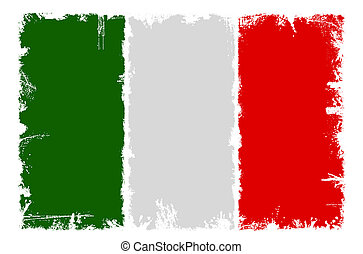 Dirty flag of Italy