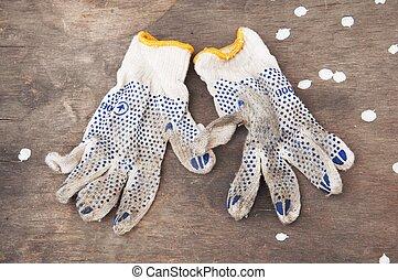 dirty gloves