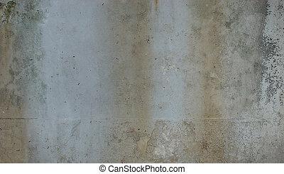 dirty gray green rusty wall