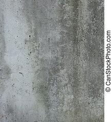 dirty gray green wall