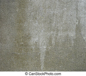 dirty gray olive green white wall