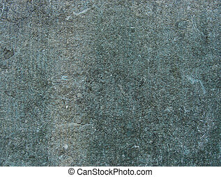 dirty gray worn wall with blue color from bronze