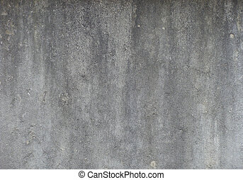 dirty gray worn wall with dirt drip