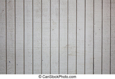 Dirty grooved wood wall - Section of a dirty white grooved...