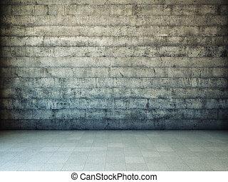 Dirty grunge wall