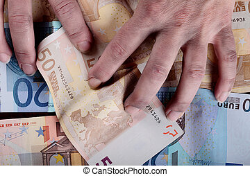 dirty hands and money