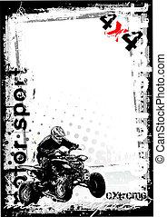 dirty motor sport 1 - sketching of the motoro sport...