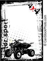 dirty motor sport 3 - sketching of the motoro sport...