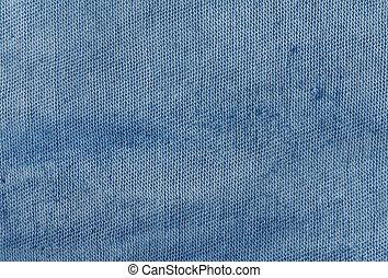 Dirty navy blue cloth texture.