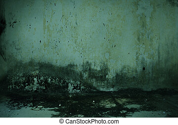 Dirty old wall horror background