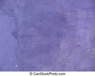 dirty old worn concrete wall painted purple