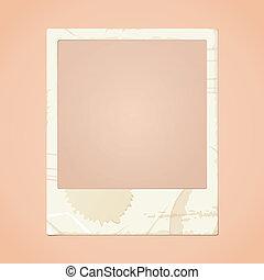 Dirty Photo Frame