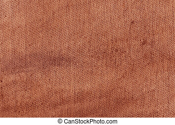 Dirty red cloth texture.