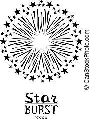 dirty vintage hipster vector monochrome badge label or logo