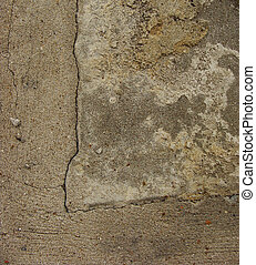 dirty worn beige brown gray concrete
