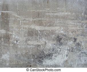 dirty worn beige gray wall