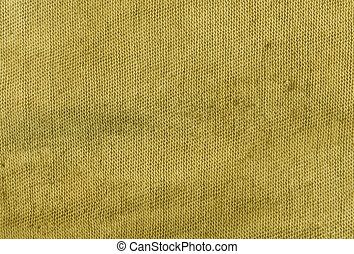 Dirty yellow cloth texture.