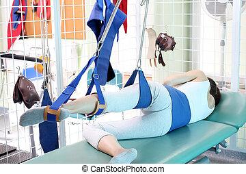 disability, реабилитация, после, спинномозговой, injury.