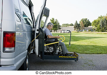 disability conversion van - disability conversion lift van...