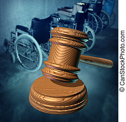Disability Rights and fighting in a court of law for equal...
